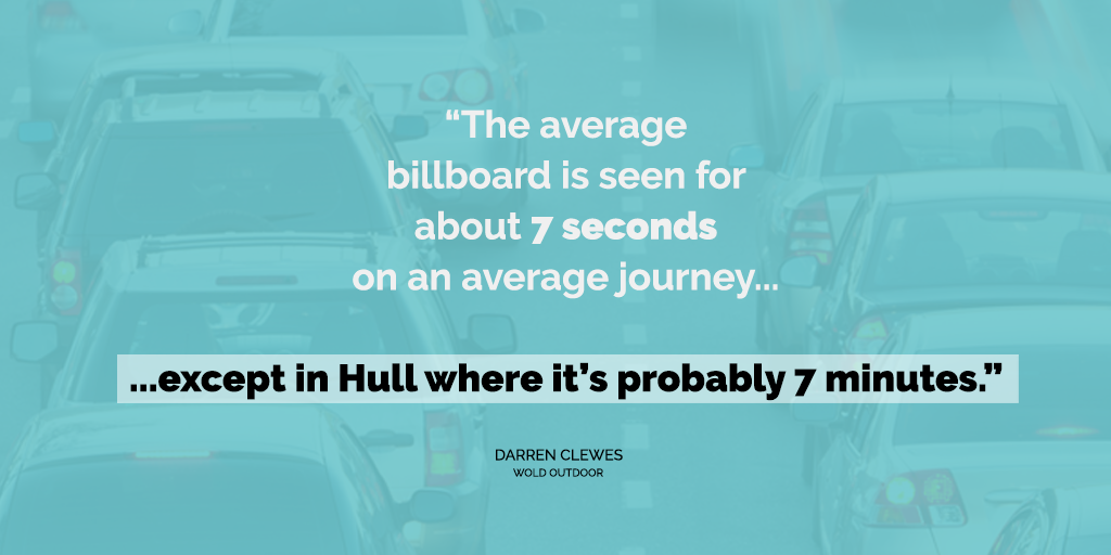 Make the most of traffic times in Hull